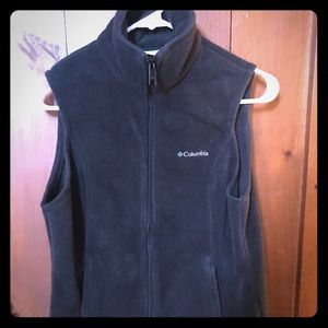 Women's Columbia Fleece Vest Size Small